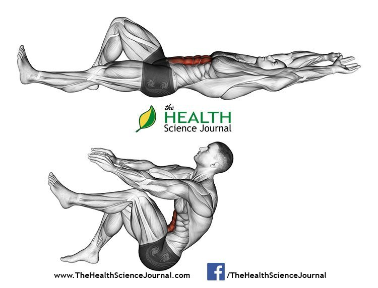 © Sasham   Dreamstime.com - Exercising for bodybuilding. Flexion of the trunk with the legs pulling