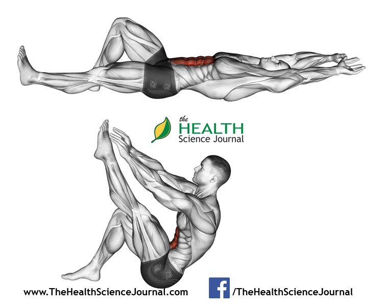 © Sasham | Dreamstime.com - Exercising for bodybuilding. Flexion of the trunk with the legs pulling up the leg