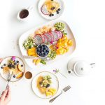 Breakfast Delicious Diet Epicure Food Fork Fruits