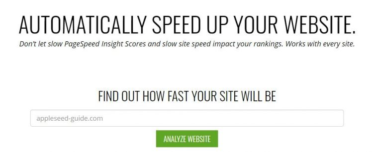 Site Speed app