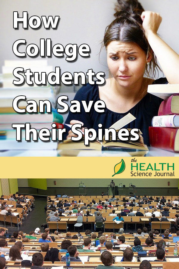 Don't Go Back To Back Pain: How College Students Can Save Their Spines