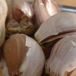 A clove of garlic per day to chase that cholesterol away