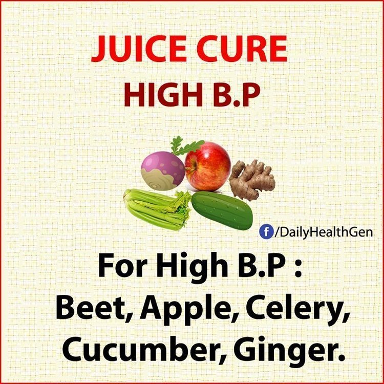 juice cure high bp