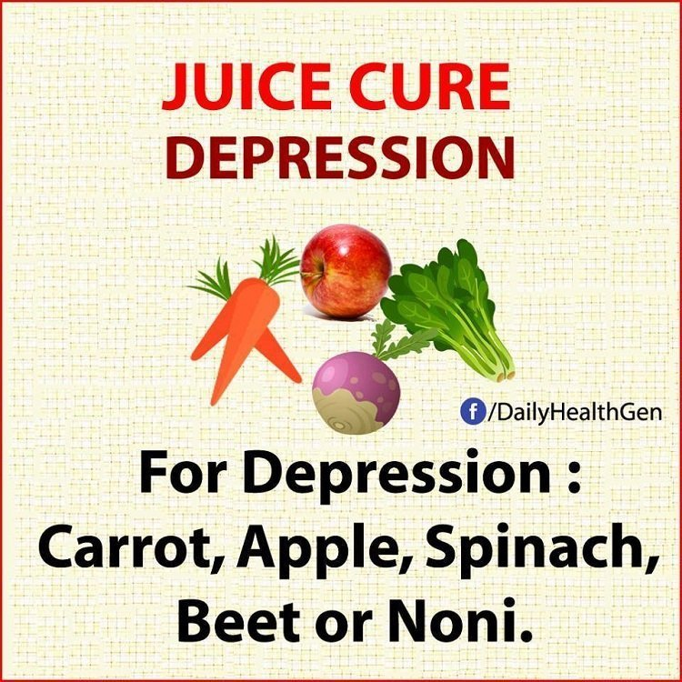 juice cure depression