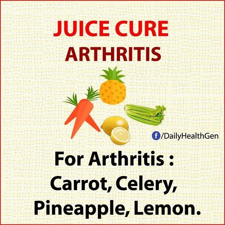 juice cure athitis