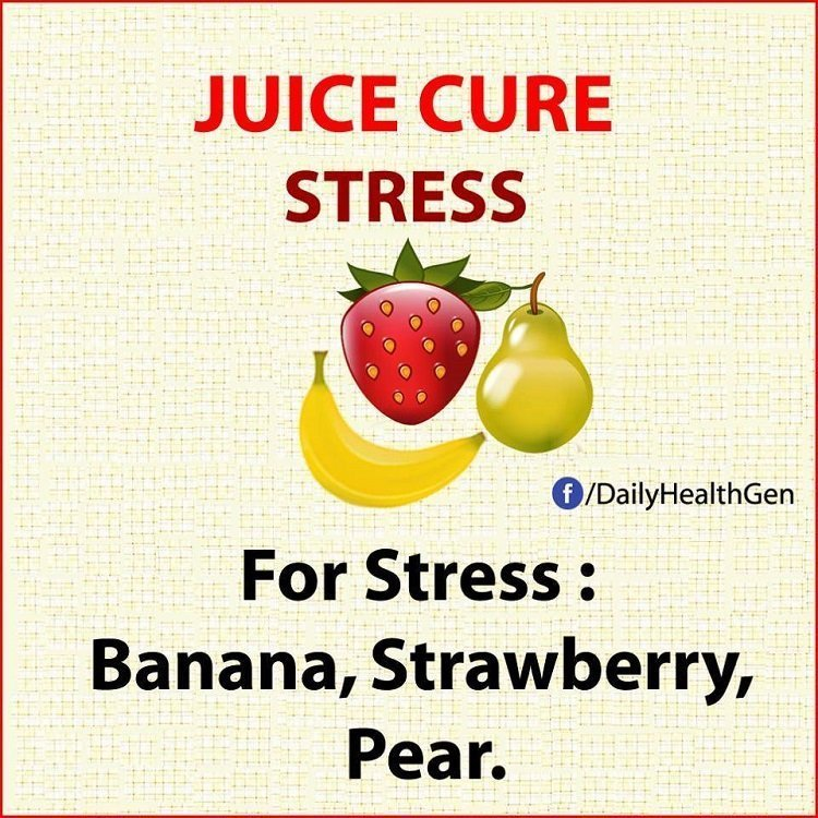 juice cure stress