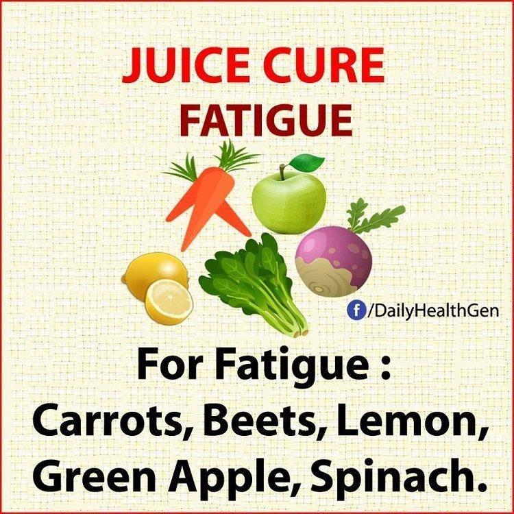 juice cure fatigue