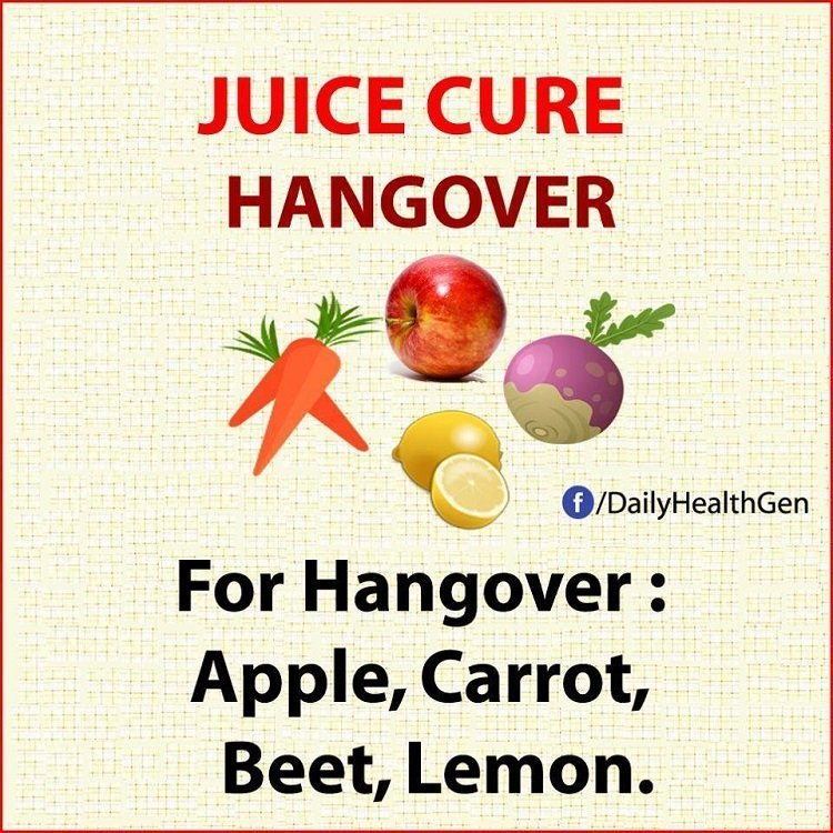 juice cure hangover