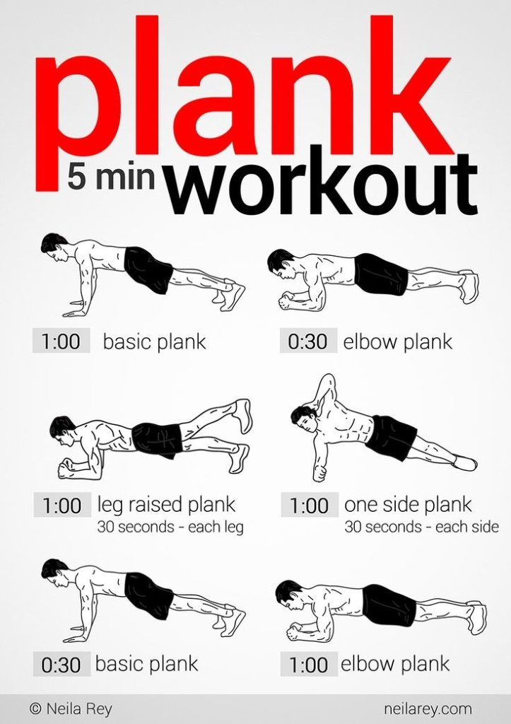 5 min plan workout