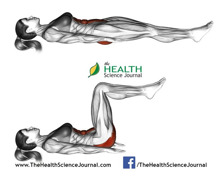 © Sasham | Dreamstime.com - Fitness exercising. Ab draw leg side. Female