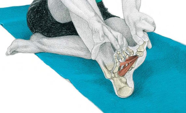 Toes Separation Exercise for Foot Pain