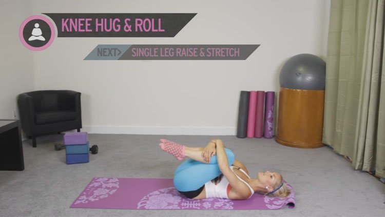 yoga-knee-hug-roll