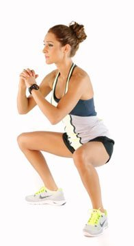 Double Pulse Squats