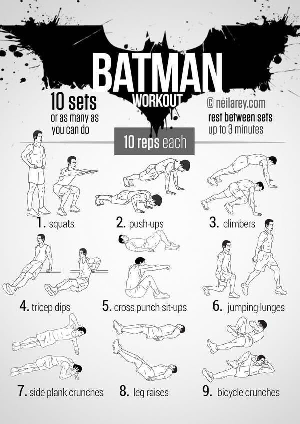9 Best Superhero Workouts - The Health Science Journal