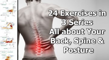 24 Exercises in 3 Series – All about Your Back, Spine & Posture