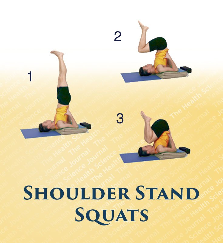 how to do shoulder stand safely