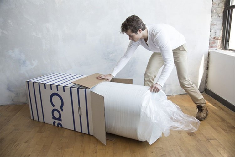 Think Of How Far We Ve Come From Ing A Truck To Transport Mattress For Our Bed Clicking On Product And Receiving Box At Door
