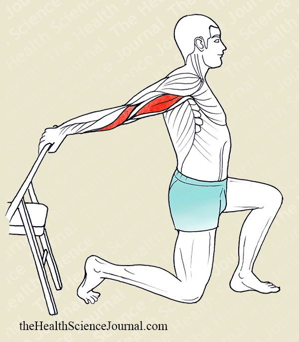 Arm Hyperextension With Support - Stretching