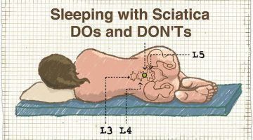 Sleeping with Sciatica – DOs and DON'Ts