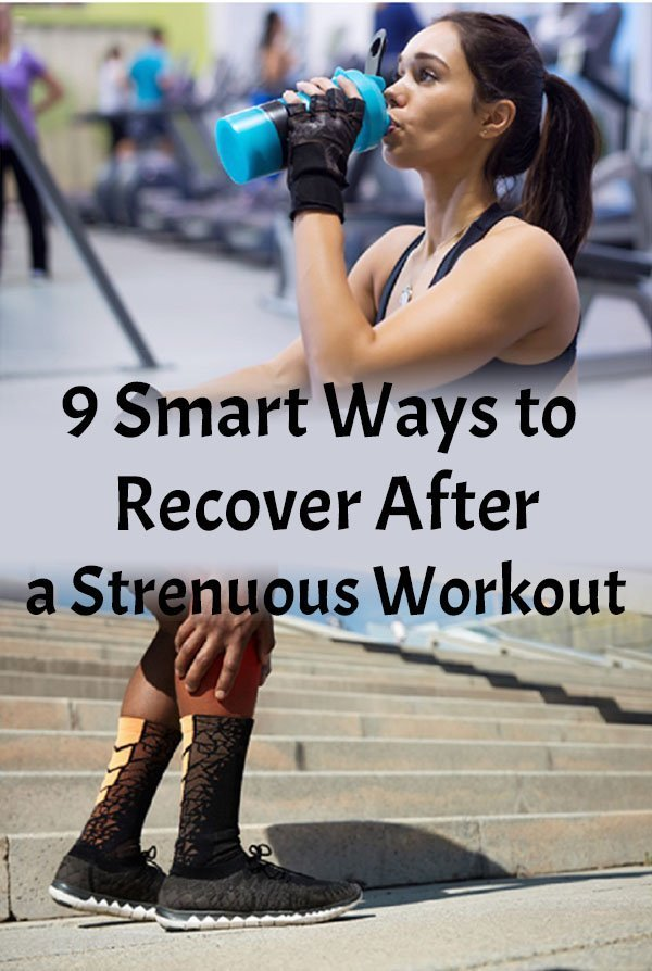 9 Smart Ways to Recover After a Strenuous Workout