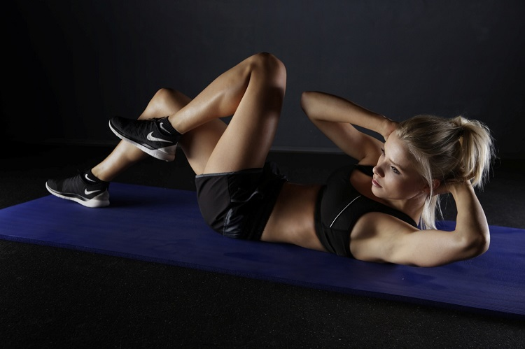 exercise gym home abs