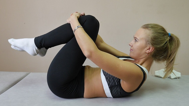 yoga pose exercise home