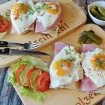 proteins eggs ham meat