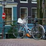 Bicycle city road