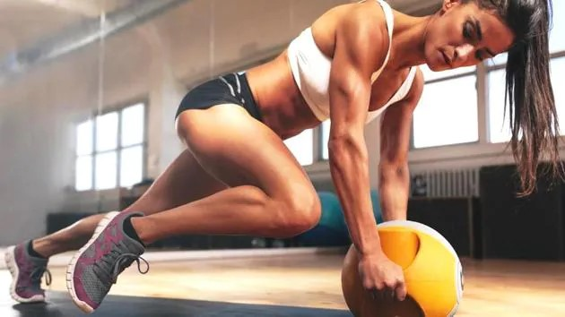 fitness exercise gym plank